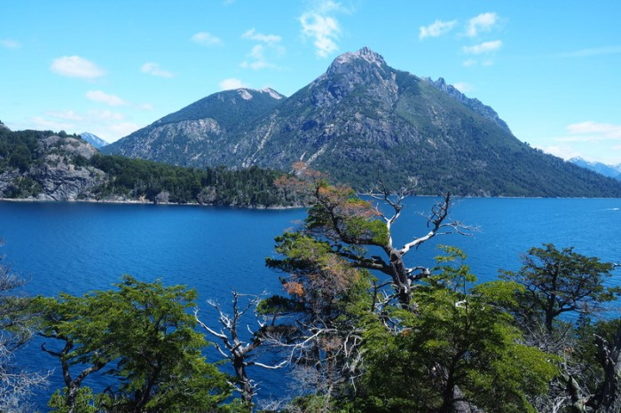 Argentina - Stunning lake views while cycling the Circuito Chico, Bariloche