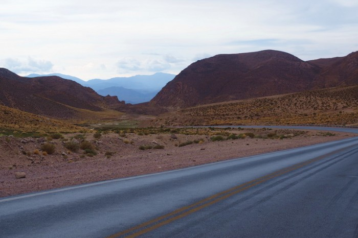 Argentina - Beautiful, hilly scenery on our way to Susques