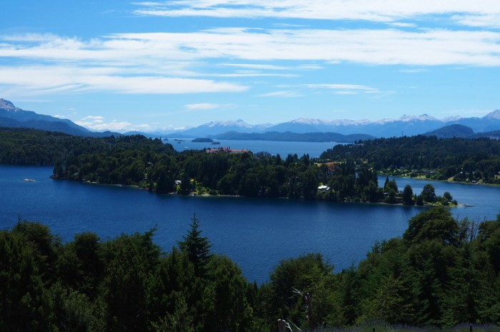 Argentina - Views of Lake Moreno while cycling the Circuito Chico, Bariloche