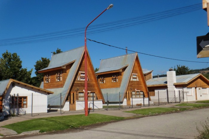 Argentina  - Houses in Trevelin