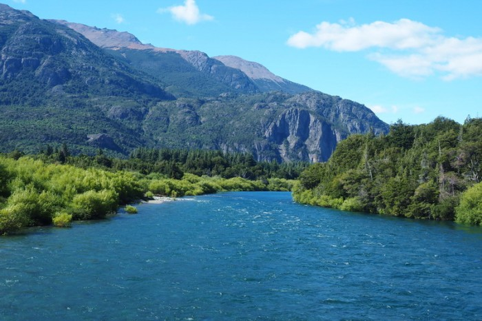 Argentina - The lovely River Futaleufú