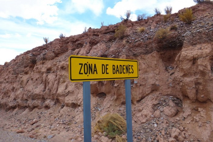"Argentina - We enjoyed the ""desert"" beauty of the Zona de Badenes"