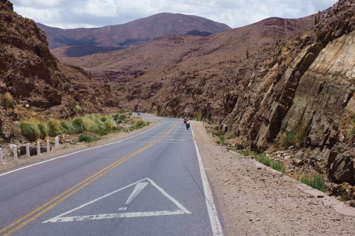 Argentina - Beautiful views in the canyon lands