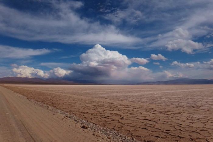 Argentina - Salinas Grandes, near Purmamarca