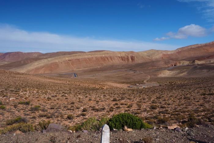 Argentina - Views on the ascent up Cuesta de Lipan