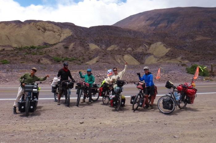 Argentina - We met a number of cool cyclists on this stretch, including these 2 Argentinians!