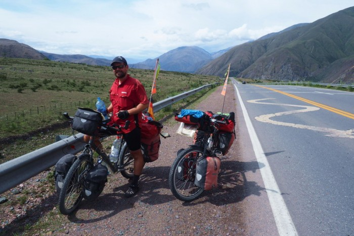 Argentina - Views on the way to Jujuy
