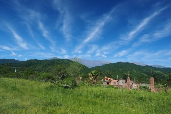 Argentina - Beautiful views on the way to San Antonio