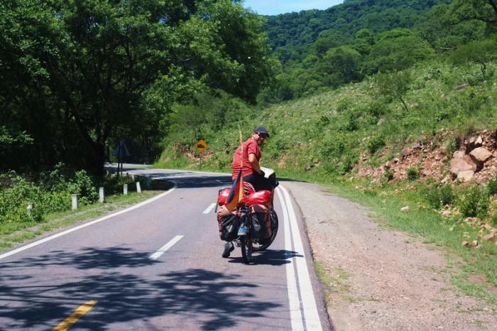 Argentina - Enjoying Highway 9 on the way to Salta