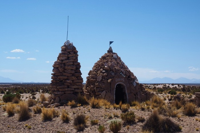 Bolivia - Interesting stone hut on the way to Huachacalla