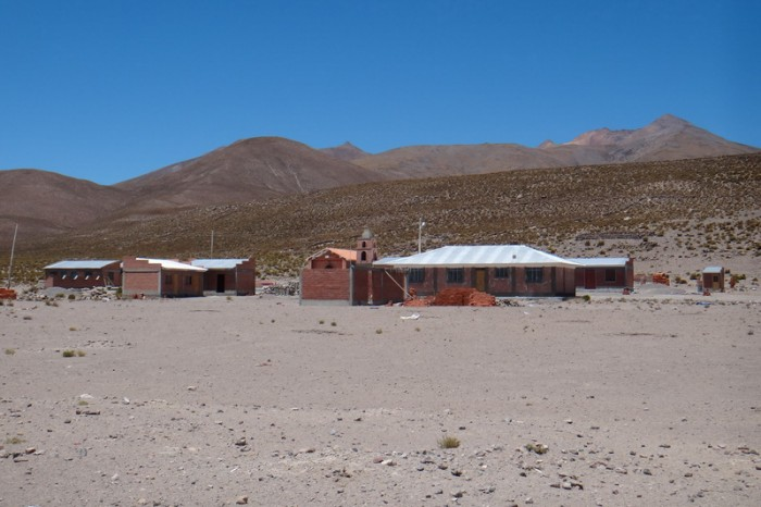 Bolivia - We passed a couple of tiny towns on the way to Salar de Coipasa