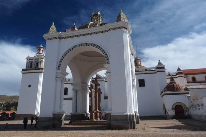 Bolivia - The beautiful Copacabana Basilica