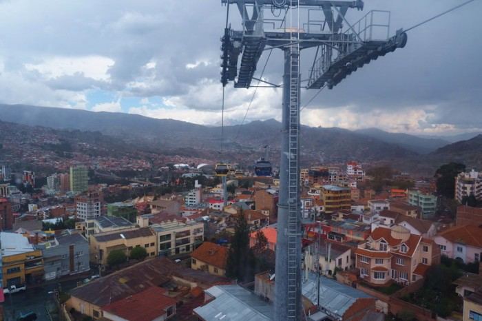 Bolivia - Views from La Paz's Teleferico (cable car)