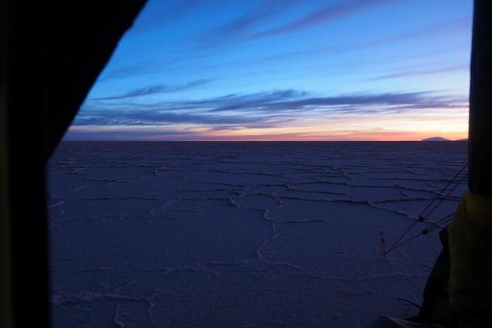 Bolivia - Sunrise, Salar de Coipasa
