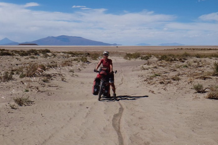 Bolivia - No more salt, but LOTS of deep sand on the way to Llica