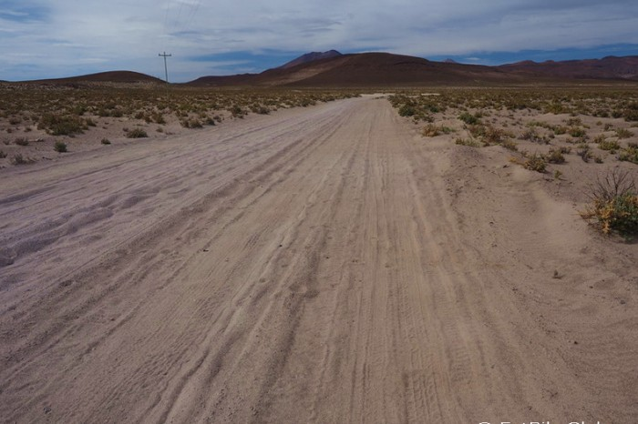 Bolivia - On the sandy road to Llica