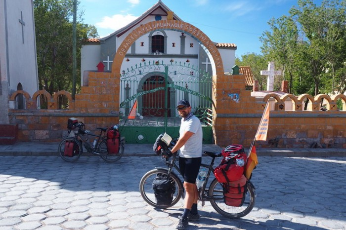 Bolivia - The cute church at Llica