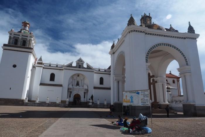 Bolivia - The beautiful Copacabana Basilica