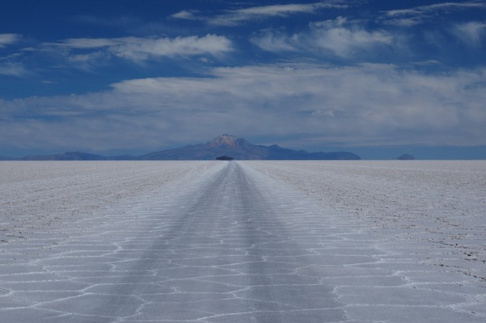 Bolivia - Cycling Salar de Uyuni on our way to San Juan