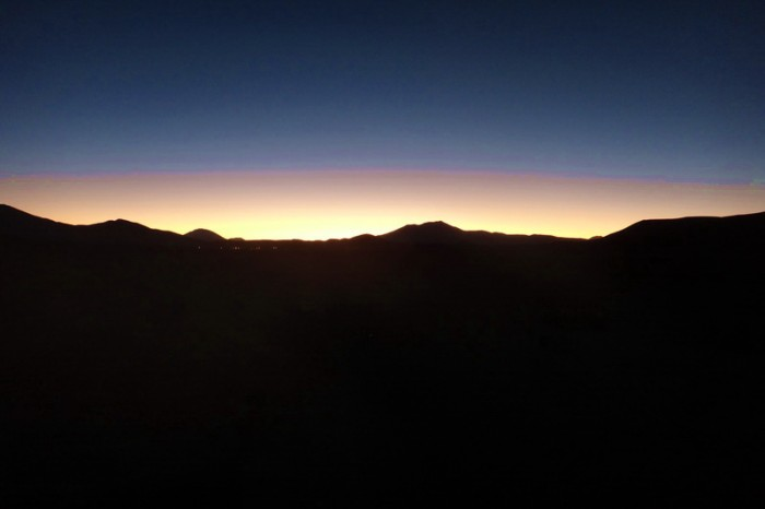 Bolivia - We arrived in San Juan in the dark. At least we got to enjoy a nice sunset!