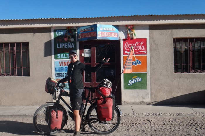 Bolivia - We got most of our provisions here and were also able to exchange money too