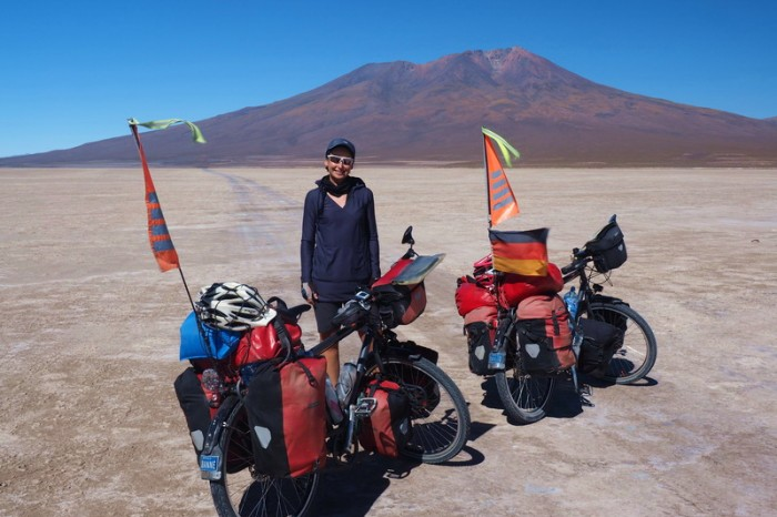 Bolivia - Day 1 of the Laguna Route: Heading towards Volcano Ollagüe