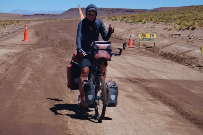 Bolivia - Day 2 of the Laguna Route: The International Road was a dream!