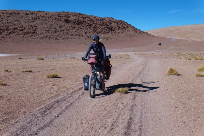 Bolivia - Day 2 of the Laguna Route: On our way to Laguna Hedionda