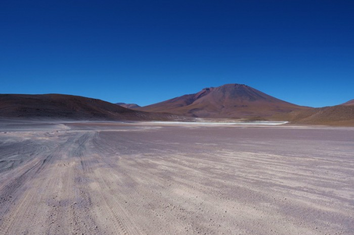 Bolivia - Day 3 of the Laguna Route: The roads were very good between the lagunas
