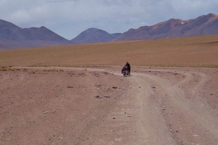 Bolivia - Day 3 of the Laguna Route: Tough going through the desert