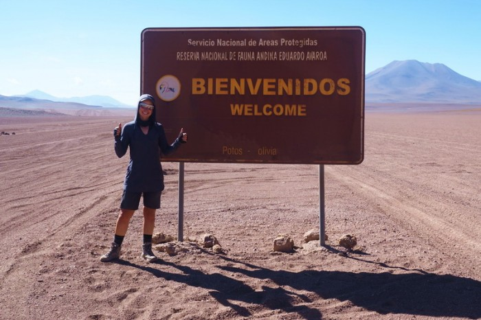 Bolivia - Day 4 of the Laguna Route: We made it to the park border!