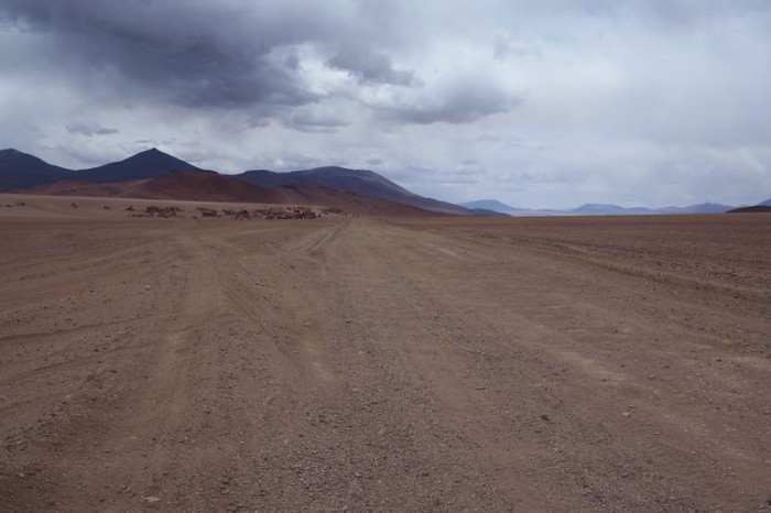Bolivia - Day 4 of the Laguna Route: The turnoff to Arbol de Piedra