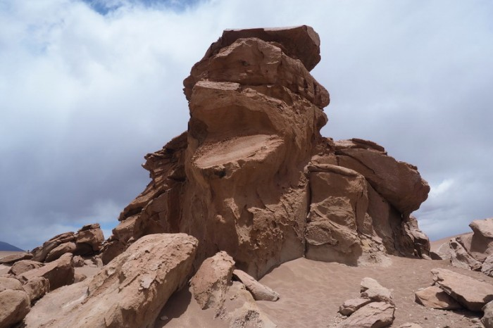Bolivia - Day 4 of the Laguna Route: Rock formations near Arbol de Piedra