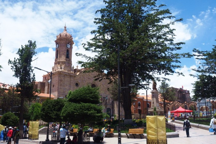 Bolivia - Beautiful Potosi Cathedral