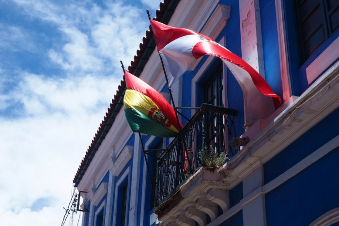 Bolivia - Lovely buildings in Potosi