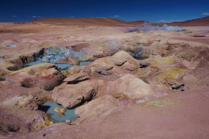 Bolivia - Day 6 of the Laguna Route: Gorgeous Sol de Manana