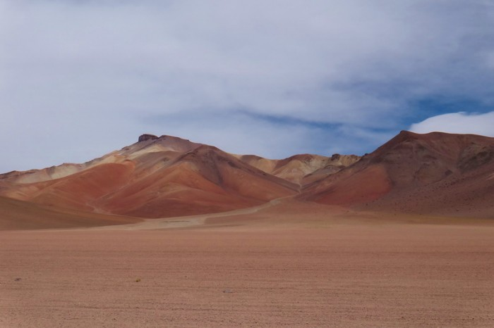 Bolivia - Day 7 of the Laguna Route: Beautiful scenery on the way to Lagunas Verde and Blanca