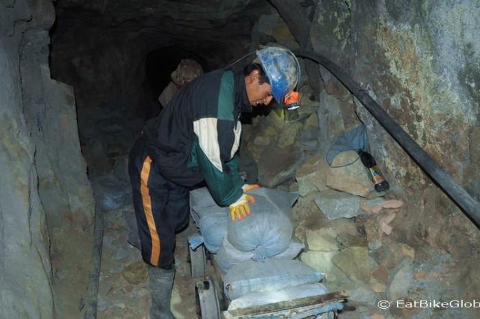 Bolivia - Miners at work, Cerro Rico, Potosi
