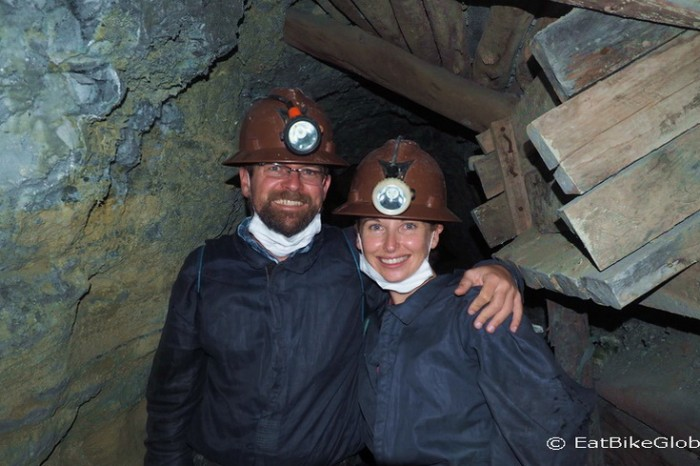 Bolivia - Couple shot in the mine!