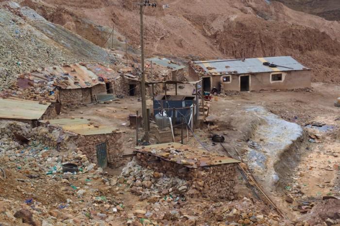 Bolivia - Miner houses, Cerro Rico, Potosi
