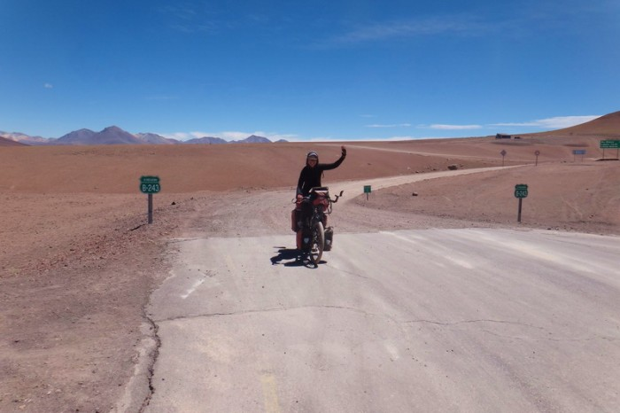 Chile - Day 8 of the Laguna Route: Wo hoo! We made it to Chile and the end of the infamous Laguna Route!