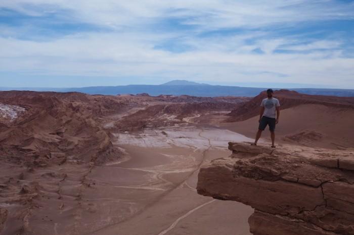 Chile - David at the Mirador Piedra del Coyote, near San Pedro de Atacama