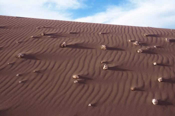 Chile - Sand dunes, Valle de la Luna, near San Pedro de Atacama