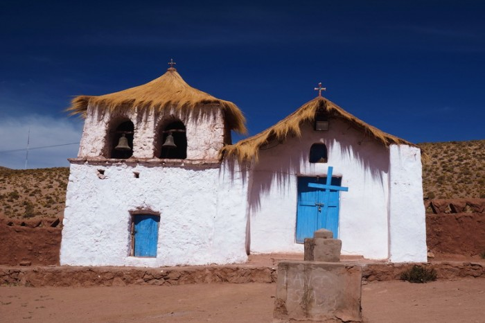 Chile - The church at Machuca