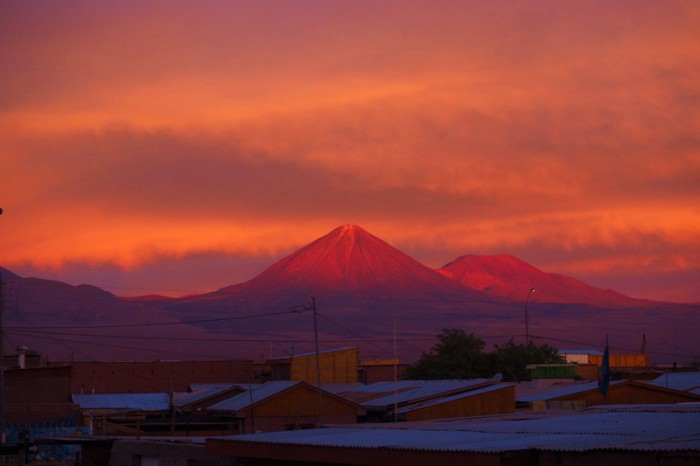 Chile - Sunset, San Pedro de Atacama