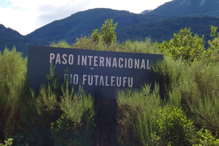 Chile - We made it to the Futaleufú border crossing
