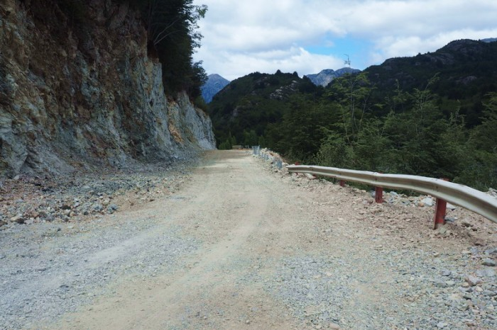 Chile - Cycling from Futaleufú to the Carreterra Austral the road continued unpaved and rough