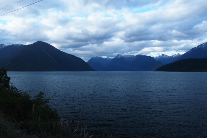 Chile - We camped beside the serene Lake Yelcho