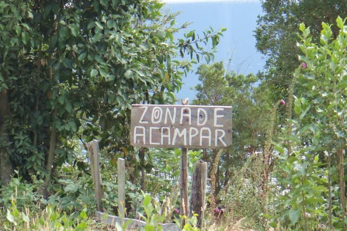 Chile - Zona de Acampar - Camping Zone!
