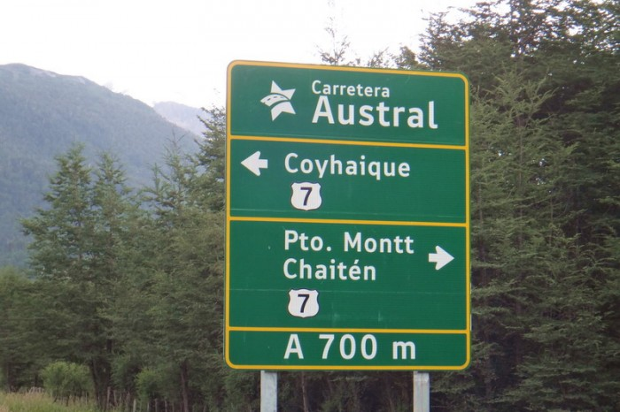 Chile - Yeah! We made it to the Carreterra Austral!